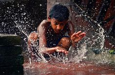 Monsoon drums .. Photo by Aditya Mukherjee -- National Geographic Your Shot