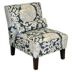 I pinned this Athens Accent Chair in Smoke from the Skyline event at Joss and Main!