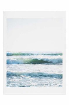 DENY Designs Bree Madden - Ride Waves Art Print
