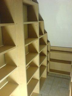 under stairs cupbord storage ideas