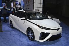 Toyota Mirai Hydrogen Fuel Cell Sedan – Image From 2014 LA Auto ...