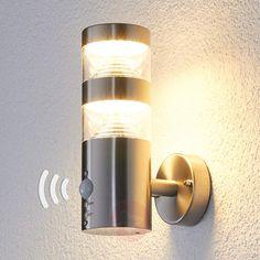 LED-Außenwandleuchte Lanea mit Bewegungsmelder-Wandleuchten Außen-9988006-30