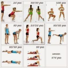 фитнес упражнения для поддержания формы)