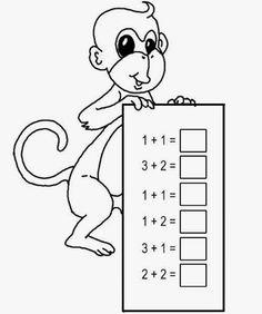 Kindergarten Math Worksheets, Homeschool Kindergarten, Preschool Learning Activities, Math Classroom, Preschool Activities, Teaching Kids, Math Addition Worksheets, 1st Grade Math Worksheets, Math Sheets