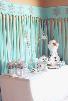 Frozen (Disney) Birthday Party Ideas | Photo 1 of 22 | Catch My Party