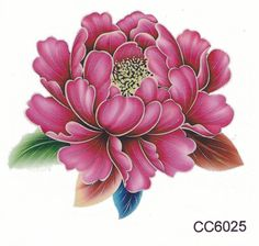 Product Information - Product Type: Set of 2 Small Pink Floral Temporary Tattoo Tattoo Sheet Size: 6cm(L)*6cm(W) Tattoo Application & Removal With proper care and attention, you can extend the life of