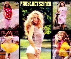 A legszebb magyar szupermodellek, topmodellek, manökenek, fotómodellek (RETRÓ): Marjai Judit szupermodell, fotóművész
