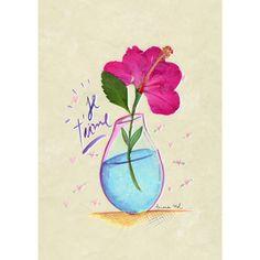 Gravura Flor de corte