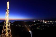 室蘭の街夜景を一望できる「測量山展望台」(北海道室蘭市) | ナショナルジオグラフィック日本版サイト