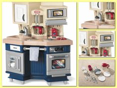 Chef-Kitchen-Kids-Toy-Set-Cooking-Play-Dishes-Cook-Pretend-Accessories-Children