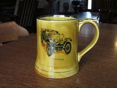 Vintage Wade Antique Car Mug, Stein, Tankard, 1903 Lanchester, Collectible Veteran Cars Series 3, Racing Nostalgia, England, Moko, Porcelain by BarefootAndCivil on Etsy