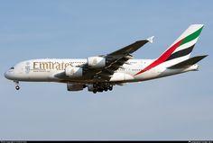 A6-EDO Emirates Airbus A380-861