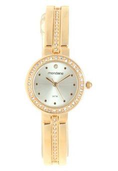 b53e618bb44 Relógio Mondaine 83257LPMVDM1 Dourado Relógio Mondaine