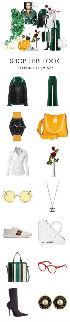 """""""Daywear, Spring time"""" by anna-glinjanaja on Polyvore featuring mode, Balenciaga, Valentino, Modalu, LE3NO, Spektre, Gucci et Chanel"""