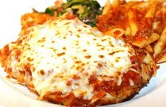Best Chicken Parmesan Ever!! I've made this at least 8 times, it's SO delicious!