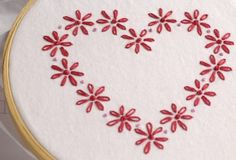 Valentine Embroidery Pattern Packet Be Mine Valentine by bigBgsd, $3.00 - so cute!!