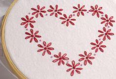 mini valentine embroidery pattern