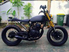 Yamaha Scorpio 225 Custom by Aan - Lombok