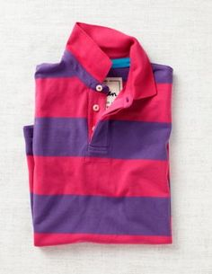 $54. Pink and purple summer pique polo