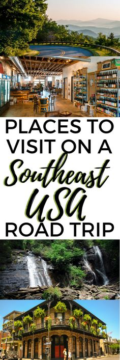 Planning a road trip to the Southeast USA soon? Let us show you some of the best beaches, traditional southern food spots, charming towns, and southern hospitality. Visit these budget-friendly spots on your Southeast USA road trip for $150 a day or less! #southeast #USA #roadtrip #neworleans #louisiana #northcarolina #tennessee