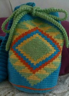 A minha primeira Wayuu ;)