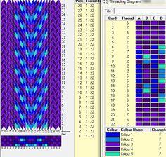 22 tarjetas, 5 colores // sed_258 diseñado en GTT༺❁