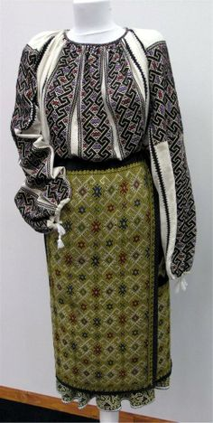 traditional costume...each area of the country has its own traditional costumes..