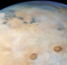 Une superbe vue de Mars pour les 15 ans de Mars Express