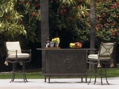 Landgrave Toledo Bar Cushion Cast Aluminum Dining Set by Landgrave. $4831.45. Shop for cast aluminum dining sets at PatioFurnitureBuy.com today and save! When looking for top quality Landgrave furniture products for your outdoor furniture needs, this Landgrave toledo bar cushion cast aluminum dining set (LTOCL) will provide years of enjoyment for your furniture decor.