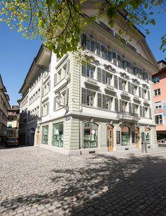 Neue Gränicher Filiale in der Altstadt von Luzern. Für modebewusste Frauen.