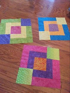 (7) Name: 'Quilting : Jaded Chain Baby Lap Quilt