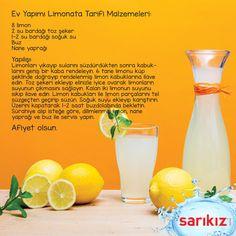 Yılbaşına özel mis gibi 'Ev yapımı limonata' tarifi veriyoruz. Şimdiden afiyet olsun. :)  #sarikiz #madensuyu #yılbaşı #yeniyıl #limonata