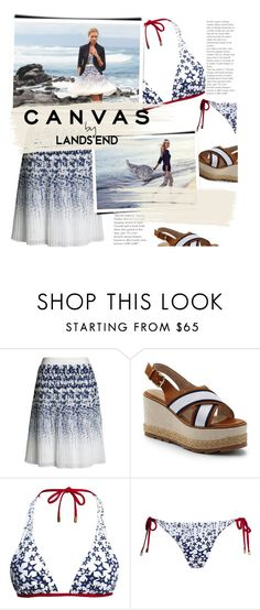 """""""Paint Your Look With Canvas by Lands' End: Contest Entry"""" by meyli-meyli ❤ liked on Polyvore featuring Canvas by Lands' End, Lands' End, paintyourlook, canvasbylandsend and youaretheartist"""