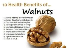 Dry Fruits - Walnuts have many benefits for health, which are offered by RR Spices in Delhi, view here top ten health benefits of walnuts. Health Benefits Of Walnuts, Coconut Benefits, Fruit Benefits, Lemon Benefits, Pomegranate Benefits, Improve Metabolism, Vitamin B Complex, Health Challenge, E 10