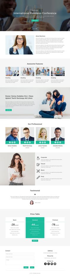 EVENT is a multipurpose responsive HTML template,Fully responsive and built with Bootstrap.Suitable for Conference, Seminar, Startup, Reservation, Webinar, Music, Party, Church, Wedding and general purposes.