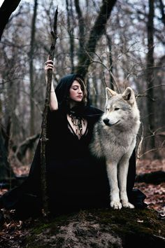 Save Gray Wolf, buy quality products and provide wolf sanctuary! - 💃🏻Wolves and Women Pictures?🐺 to explore awesome wolves design - Fantasy Wolf, Dark Fantasy, Fantasy Art, Fantasy Quotes, Fantasy Photography, Animal Photography, Wolves And Women, Dark Beauty Magazine, Wolf Pictures