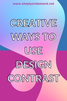 Contrast is one of the design principles designers use in creating effective design. It is not only colour, but also so much more. Using contrast effectively in creative design will add emphasis where it is needed, guiding the reader's eye along a predetermined journey. Social Media Images, Perfect Image, Being Used, More Fun, Creative Design, Contrast, Designers, Journey, Ads