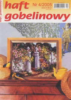 (1) Gallery.ru / Фото #1 - 2005 04 - tymannost Cross Stitch Magazines, Cross Stitch Books, Book Crafts, Craft Books, Needlework, Embroidery, Pattern, Projects, Painting