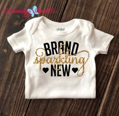 The Most adorable Brand Sparkling New Onesie! <3 #cassidyscloset