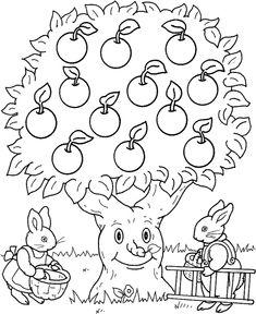 * De appelboom...