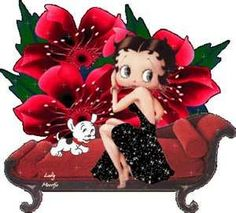 Betty Boop born August 9, 1930. She originally appeared in the Talkartoon and Betty Boop film series, which were produced by Fleischer Studios and released by Paramount Pictures. She has also been featured in comic strips and mass merchandising. Despite having been toned down in the mid-1930s to appear more demure, she became one of the best-known and popular cartoon characters in the world.