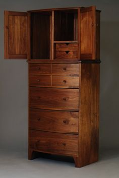 Dalhousie Bowfront Dresser and Dressing Cabinet- John Otter