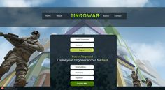 Tingowar menu Game Design, Create Yourself, Menu, Menu Board Design