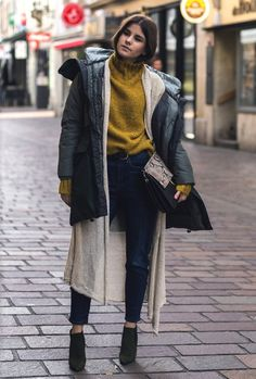 modern bohemian outfit with ankle boots