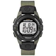 Timex Men's T499939J Expedition Full-Size Digital CAT Green Watch