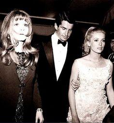 Francoise Dorleac, George Hamilton and Catherine Deneuve.