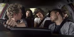 This is cute because nialls looking after the boys because there all sleeping this is the Toyota 1D commercial 2015