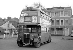 How about riding from Twickenham to Highgate on one bus? Today you have to change twice (and do some walking) to make the same journey. London Bus, Old London, Rt Bus, Roof Box, Routemaster, Double Decker Bus, London Pictures, Bus Coach, London Transport