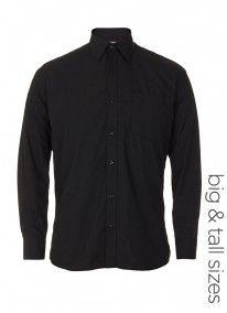 Plain cassidy shirt Black