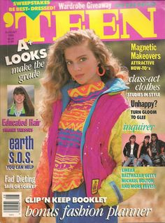 Teen Magazine August 1990 - i actually remember this cover! so weird
